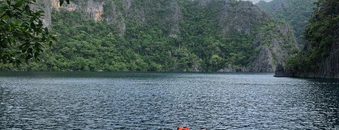 Barracuda Lake / Luluyuan Lake is one of Philippines.