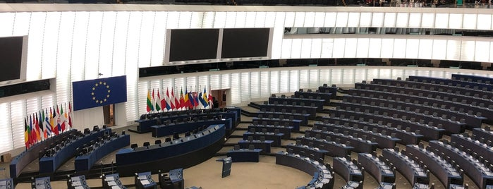 Parlamentarium is one of Strasbourg 2018.