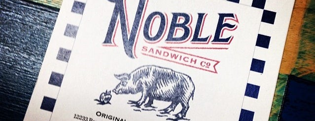 Noble Sandwich Company is one of Everywhere Else.