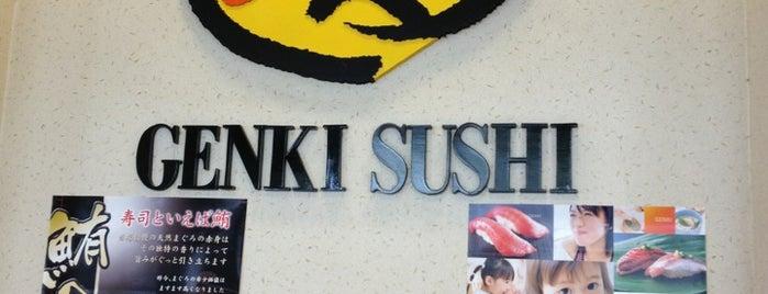 Genki Sushi is one of Bravo Hawaii.