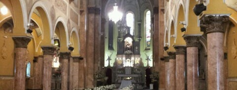 Igreja Santa Teresinha is one of Tempat yang Disukai Cristi.