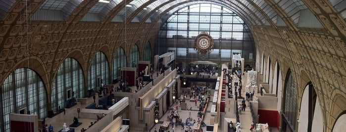 Museu de Orsay is one of PARIS.