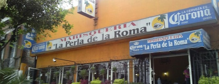 La Perla de la Roma is one of Comida, Roma.