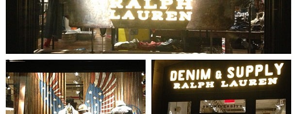 Denim & Supply is one of Favorite NYC Clothing Stores.