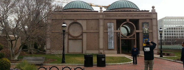 National Museum of African Art is one of D.C..