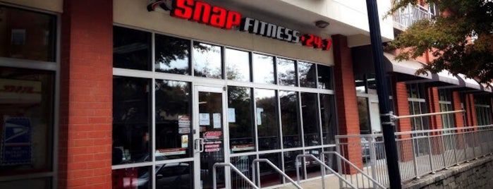 Snap Fitness Inman Park is one of 7 Spots for Late-Night Atlanta Fun.