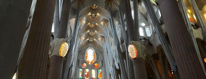 Museu Basilica de la Sagrada Familia is one of Barcelona, SP.