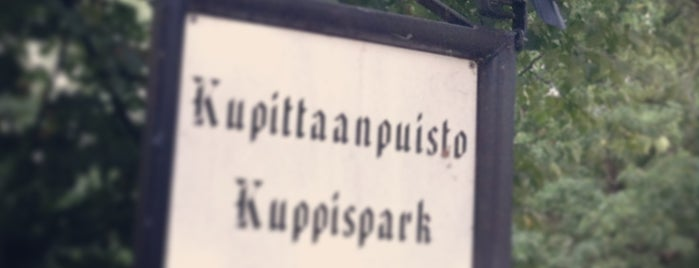 Kupittaanpuisto is one of Best in Turku.