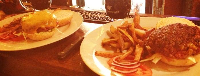 Restaurace Jáma | The Hollow is one of Nejlepší Burgery.