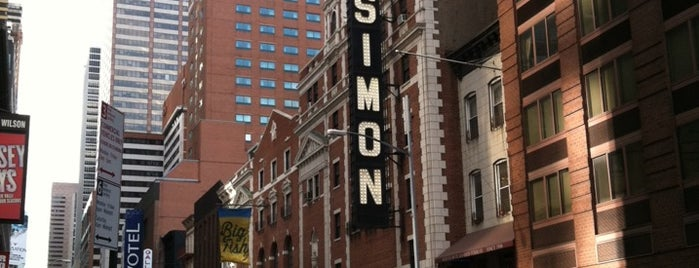 Neil Simon Theatre is one of Lugares favoritos de Marissa.