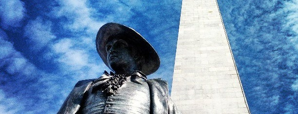 Bunker Hill Monument is one of TODO Boston.
