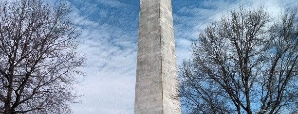 Bunker Hill Monument is one of #BeRevered Best of Boston: Charlestown.