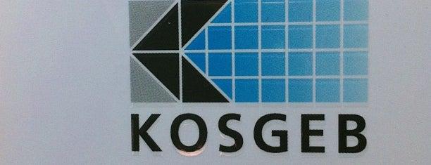 KOSGEB is one of Samet : понравившиеся места.