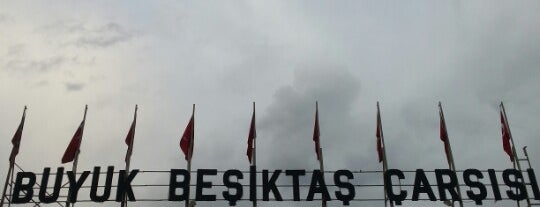 Büyük Beşiktaş Çarşısı is one of Beşiktaş JK.