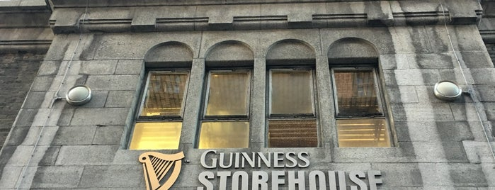 Guinness Storehouse is one of Ireland. Places.