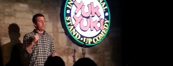 Yuk Yuk's Comedy Club is one of Vancouver/Seattle.