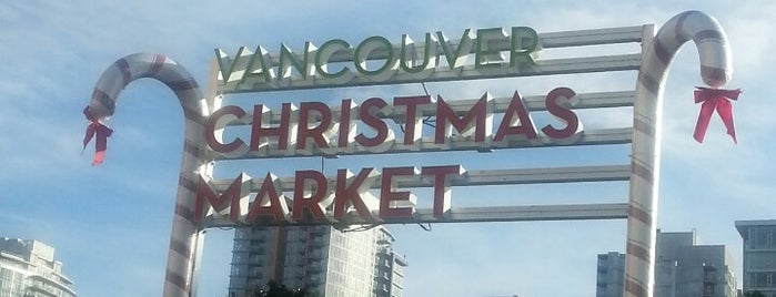 Vancouver Christmas Market is one of Corbet's Secret Vancouver.