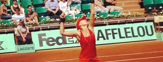 Court Suzanne Lenglen is one of Big Matchs's Today!.