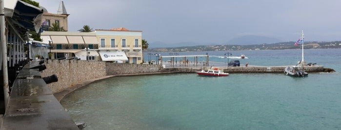 New Port is one of Spetses Island.