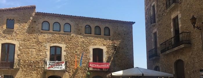 Pals is one of Pueblos medievales.