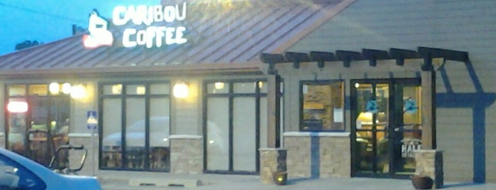 Caribou Coffee is one of Evan[Bu] Des Moines Hot Spots!.
