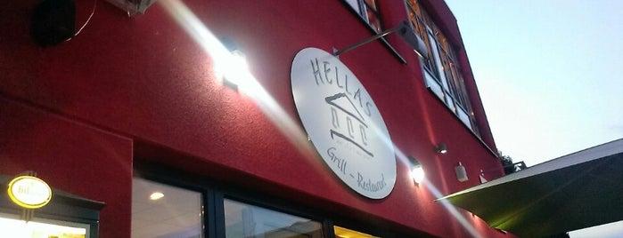 Hellas Grill is one of Tempat yang Disukai Travelagent.
