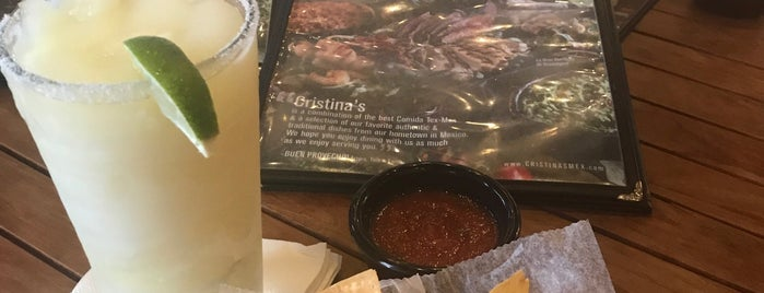Cristina's Fine Mexican Restaurant is one of Lugares favoritos de Stacy.