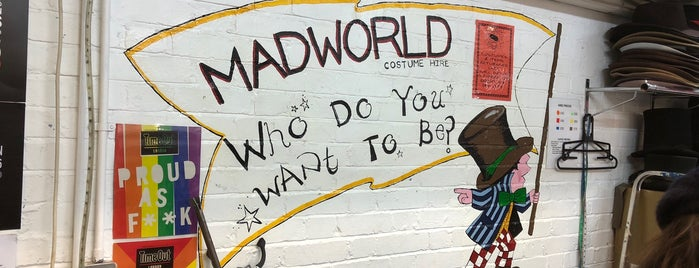 Mad World Fancy Dress and Costume Hire is one of London.