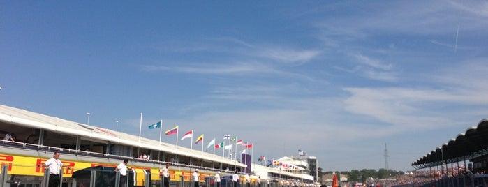2013 Hungarian F1 Grand Prix is one of Lieux qui ont plu à Daniel.