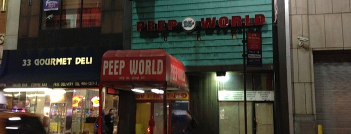 Peep world is one of New York.