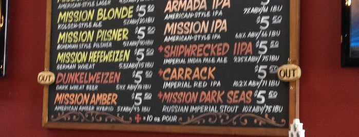 Mission Brewery is one of SD Breweries.
