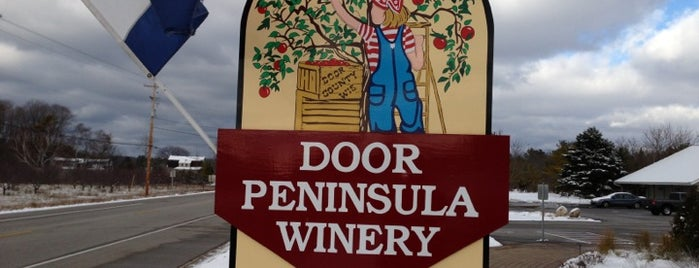 Door Peninsula Winery is one of Door county.