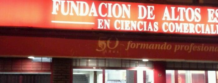 Fundación de Altos Estudios en Ciencias Comerciales is one of Listas wi fi.
