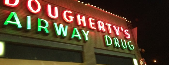 Dougherty's Pharmacy is one of Entertainment/Places.
