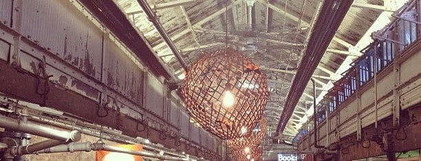Chelsea Market is one of CMJ 2012.