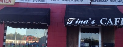 Tina's Cafe is one of Lincoln.