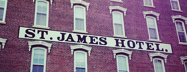 St. James Hotel is one of Historic Hotels to Visit.