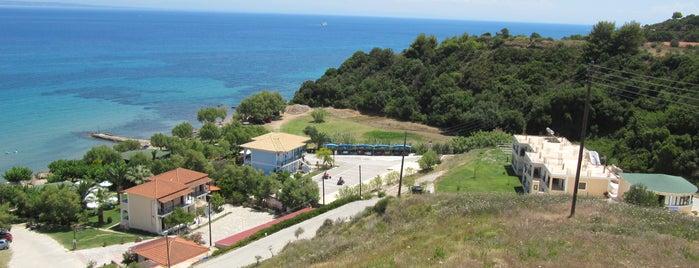 levantino beach bar kaminia beach is one of Zakynthos.