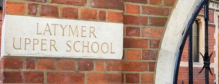 Latymer Upper School is one of debs.