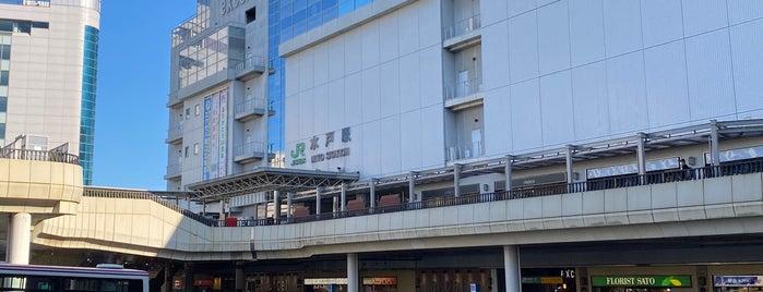 JR Mito Station is one of Tempat yang Disukai Masahiro.