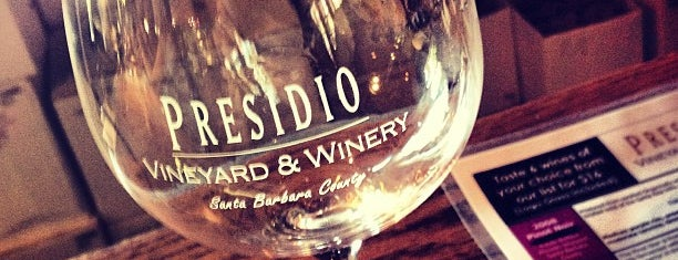 Presido Vineyard And Winery is one of Solvang List.
