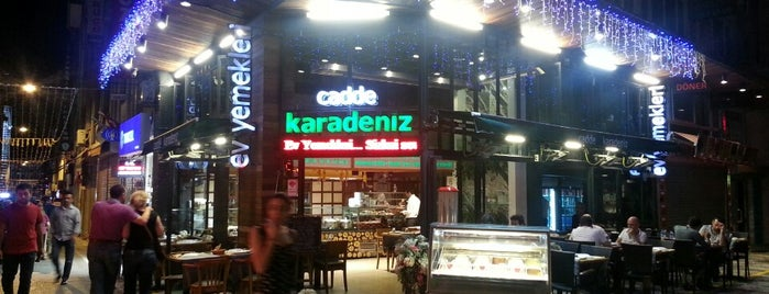 Cadde Karadeniz is one of Serav->V ile :) 님이 저장한 장소.