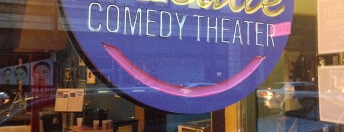 Arcade Comedy Theater is one of Posti che sono piaciuti a Tiona.