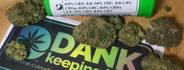 DANK Dispensary Recreational and Medical is one of Denver Trip.