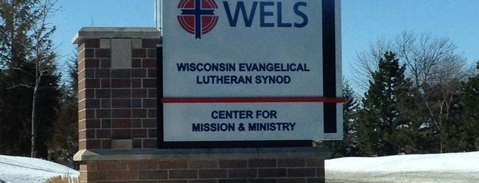Wisconsin Evangelical Lutheran Synod is one of Posti che sono piaciuti a Rob.