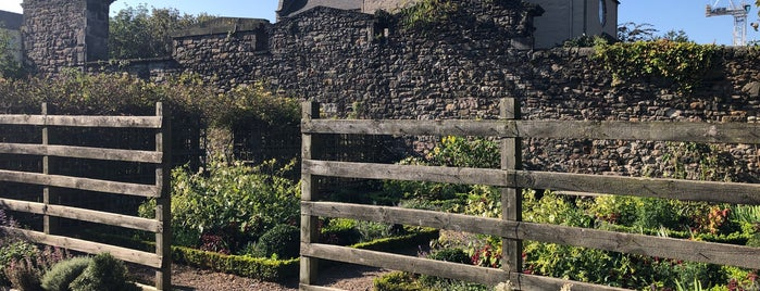 Dunbar's Close Garden is one of Scotland - Must See.