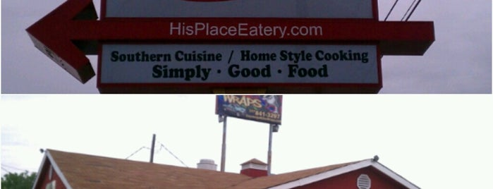His Place Eatery is one of Top 10 dinner spots in Indianapolis, IN.