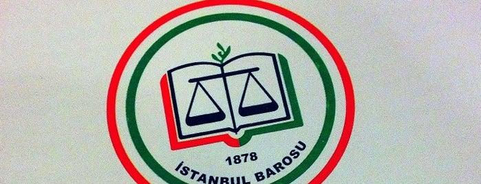 İstanbul Barosu is one of Posti che sono piaciuti a Nural.
