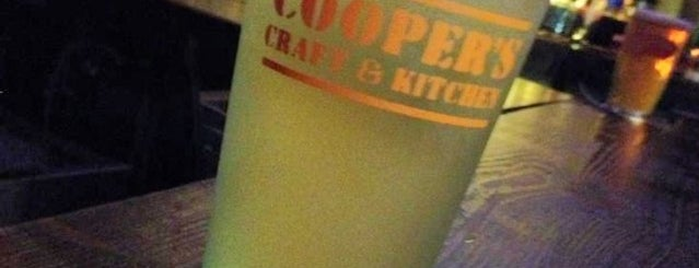 Cooper's Craft and Kitchen is one of NYC Good Beer Passport 2014.