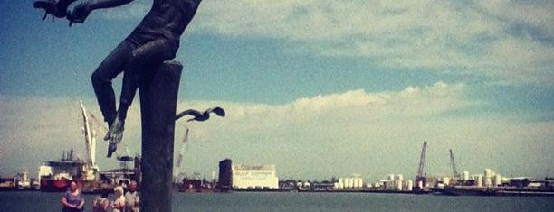 Downtown Galveston is one of Lugares favoritos de Sergio M. 🇲🇽🇧🇷🇱🇷.